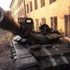 Русский танк 2012 года выпуска в зоне боевых действий на Донбассе (ВИДЕО)
