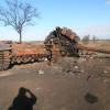 Уничтоженные возле Старобешево танки российско-фашистских оккупантов (ФОТОрепортаж)