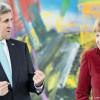 Сегодня госсекретарь США Керри обсудит с Меркель ситуацию в Украине