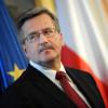 Для отмены санкций Россия должна вернуть Крым Украине, — Коморовский