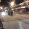 Танк террористов в центре Донецка врезался в грузовик (ФОТОФАКТ)