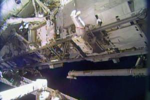Кадр: NASA TV