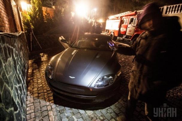 Один из самых дорогих и эксклюзивных автомобилей в мире - Астон Мартин