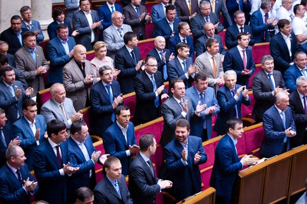 """Регионалы"" до распада. Фото zn.ua"