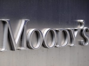 Image: Moody's Corporation sign