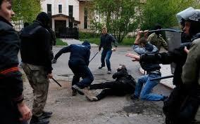 Сепаратисты, как шакалы набросились на журналиста и жестоко избили