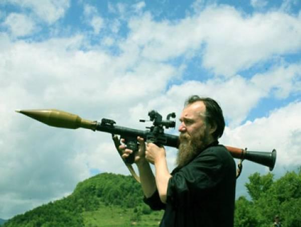 Фашист Дугин в Осетии