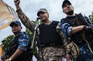 Луганские боевики. Фото: AFP