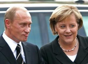 путлер и меркель