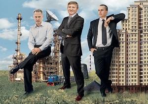 Фото: Корреспондент Дмитрий Фирташ, Ринат Ахметов и Александр Янукович