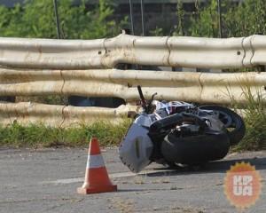 Злополучный мотоцикл, на котором разбился Андрей Гусин. Фото kp.ua
