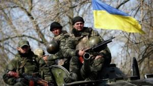 украинские-военные