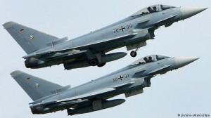 Истребители Eurofighter немецких военно-воздушных сил