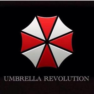 Фото: соцсети Эмблема революции - зонт