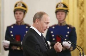 """""""Свобода"""" считает, что Путин не дал ей пройти в Раду. Фото: AFP"""