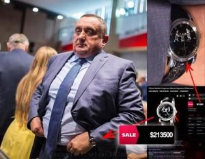 Богдан Дубневич в часах за 200 тыс $ Фото: Владислав Содель
