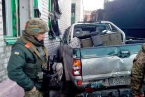 Украинские бойцы в Широкино Пресс-служба Минобороны