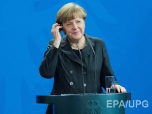 Меркель сдержана в прогнозах успешности переговоров по Донбассу  Фото: ЕРА