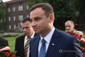 Новоизбранный глава польского государства Анджей Дуда
