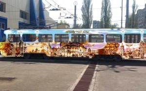 На свой первый маршрут арт-трамвай выйдет 30 мая