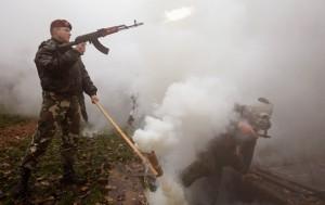 Фото: Reuters Белорусские военные на учениях под Минском