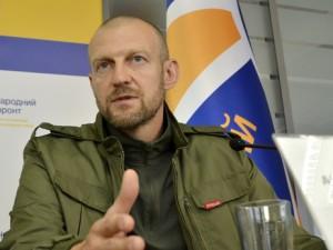 Тетерук уверяет, что фракция поддержит кандидатуру Грицака  Фото: nfront.in.ua
